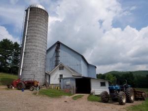 Small dairy farm, New York