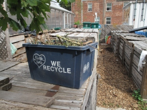 Controversial - community compost sites don't always fit with current council regulations on waste.